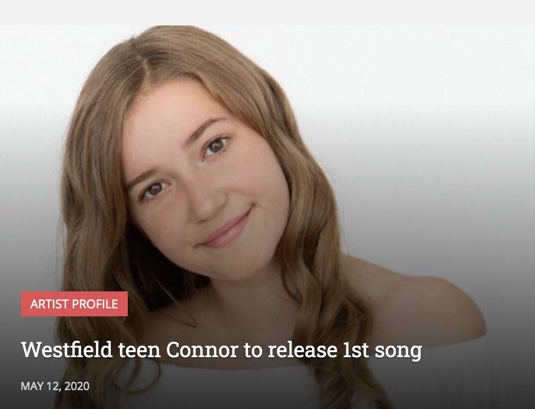 Westfield teen Connor to release 1st song